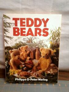 Vintage Teddy Bears Book by Philippa and Peter Waring Arctophiles Bear 1984
