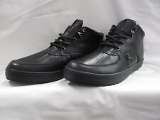 Men's Polo Ralph Lauren Radus Black Mid Top Boot Size 10