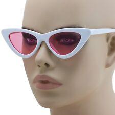 Classic Style Cateye Sunglasses Small Retro Vintage Women Fashion Shades 2018