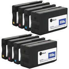 8PKs New Gen 950 XL 951 XL Ink Cartridge for HP OfficeJet Pro 8600 8610 8615