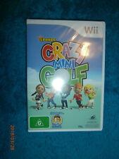 Kidz Sports Crazy Mini Golf (Nintendo Wii 2010) PAL game 72 holes over 4 courses