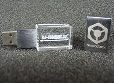 Matte Crystal USB 2.0 Flash Drive 16GB 32GB Custom Club Studio Memory Pendrive