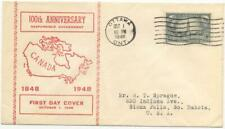 Canada 277 first day cover, Responsible Government