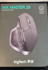 Logitech MX Master 2s Graphite Wireless Computer Laser Mouse Bluetooth 910
