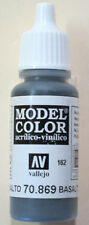 Vallejo Model Color Paint: 17ml  Basalt Grey 70869 (M162)