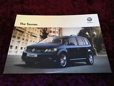 VW Touran Brochure 2013 - Dec 2012 issue inc SE & Sport