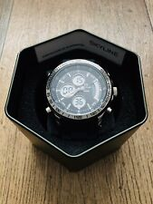 Men's Watch BNIB - Genuine Skyline Chronograph USA Dual Time Water Resistant 30M