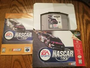 Nintendo 64 N64 - NASCAR 99 - Brand New Open Box TESTED AND WORKING