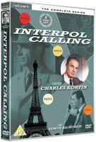 Interpol Calling: The Complete Series DVD (2012) Charles Korvin cert PG 5 discs