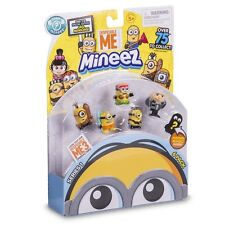 Despicable Me 3 Minions Mineez Series One Deluxe Collectors 6 pack NEW 2017