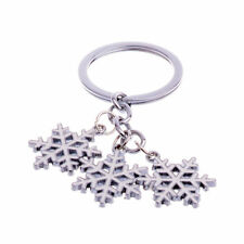 Keychain Gifts Jewelry Pendants Xmas Snowman Snowflake Keyrings Christmas Tree