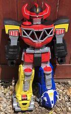 "Rare 2015 Power Ranger Fisher Price Imaginext Giant Megazord 27"" Playset Toy"