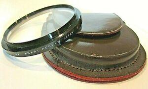 Vintage Asahi Pentax Friction UV Filter 70mm - Clean! w/ Case!