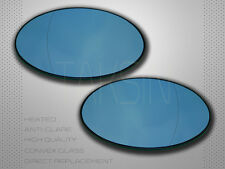 2001-2006 MINI COOPER S R50 R52 R53 BLUE MIRROR GLASS HEATED POLARIZED SET NEW!