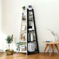 10% OFF Ladder  Corner Bookcase Shelving Rack Display Organiser Storage  H413-5
