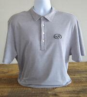 Travis Mathew Polo Golf Shirt Size XL Gray Mens Short Sleeve Cotton Trilogy