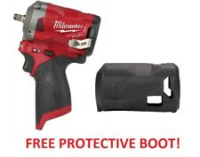 "Milwaukee 2554-20 M12 FUEL Compact Stubby 3/8"" Drive Impact Wrench Bare Tool"