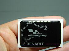 RENAULT SPORT RS boot badge/emblem Side Wing Fender RENAULT CLIO PANEL EMBLEM