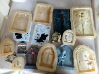 8 New latex moulds, large fairy job lot garden, home ornaments👼💞