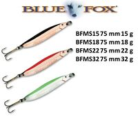 BLUE FOX MORESILDA® Spoons 75mm 15g - 32g Various Colours