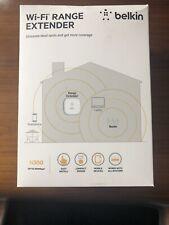Belkin N300 WiFi Range Extender : Boxed, Sealed And Unused