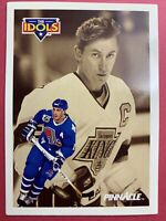 1991 Pinnacle The Idols Joe Sakic Wayne Gretzky