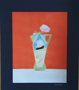 Craigie Aitchison  Limited Edition hand signed screen print