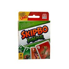 Mattel Skip Bo Junior Kartenspiel Gesellschaftsspiel Kinderspiel Familienspiel
