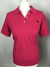 Gorgeous Pink Abercrombie & Fitch,Women's Polo. Size XL. U.K. 12