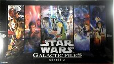Star Wars GALACTIC FILES series 2 Trading Cards Sealed hobby BOX Topps Sketch