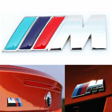 BMW M-TECH SPORT 3D Chrome Vehicle Emblem Badge Logo Decal Bumper Fender Rear
