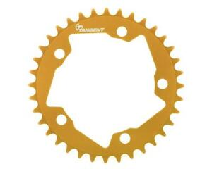 Tangent Halo 5-Bolt Chainring (Gold)