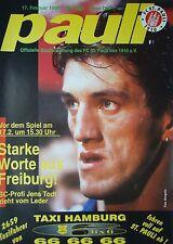 Programm 1995/96 FC St. Pauli - SC Freiburg