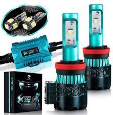 Glowteck Extreme 360 LED Headlight Bulb Conversion Kit H11 H8/H9 12000 Lumen/2