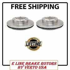 Set Of 2 Front Premium Brake Rotors Fit Toyota Sequoia,Tundra Life Time Warranty