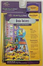 Quantum Pad Brain Twisters Search & Find Puzzles Above & Beyond Series NEW