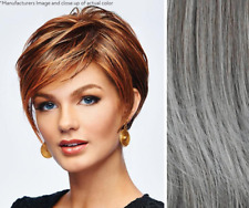 Imperfect Hairdo Take it Short Wig - Heat Friendly Synthetic - Color Gray
