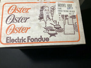 Oster Electric Fondue 1976