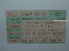 JUDY MOWATT 1991 Concert Ticket Stub NEW ORLEANS Tipitina's BOB MARLEY & WAILERS