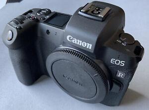 Canon EOS R 30,3MP Spiegellose Systemkamera - Schwarz (Nur Gehäuse)