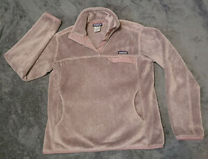 Patagonia Women's Re-Tool Snap-T Fleece Pullover Size L Lilac