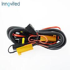 HID Anti-Flicker Load Resistor Relay Harness H1 H8 H9 H11 9005 9006 9140 9145