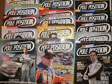 15 NASCAR POLE POSITION Magazines,Earnhardt,Johnson,Busch,Gordon,Patrick+2 BONUS