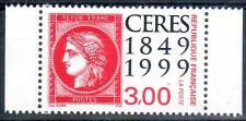 CERES. 150eme anniveraire du timbre français. Émis en carnet N° 3212