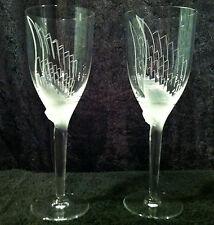 Lalique Angel Champagne Flutes Pair Perfect