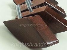 4x BLOCCO IN LEGNO MOBILI GAMBE PIEDI PER DIVANI, settees, sedie e posapiedi M10