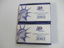 2002 MINT PROOF SET
