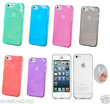 COVER Custodia MORBIDA Slim Gel per Apple iPhone 4 4S 4G Color Gomma Bumper *