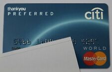 Expired Citi Bank Preferred MasterCard Credit Card USA