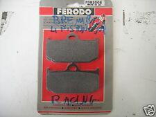 211 coppia  Pastiglie Freno ANTERIORI FERODO RACING  PINZA BREMBO 4 PISTONCINI